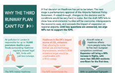 Featured image for AEF launches new campaign: Why the third runway plan can't fly