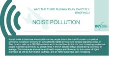 Featured image for AEF briefing on aircraft noise and NPS for Heathrow calls for better information and more controls
