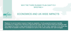 Featured image for AEF briefing looks at the economics and UK-wide impacts of Heathrow expansion