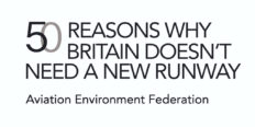 Featured image for 50 reasons why Britain doesn't need a new runway: AEF campaign launches